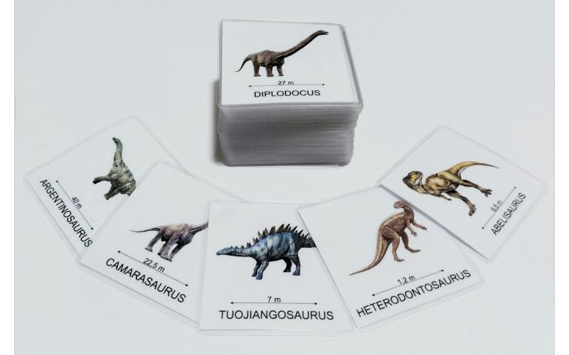 Čas dinozavrov - znanstvena imena